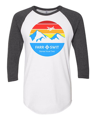 "Seaplane Sunset - ""El Pres"" Baseball Shirt"