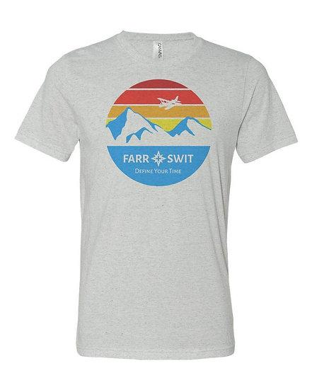 Seaplane Sunset - Comfy T-Shirt