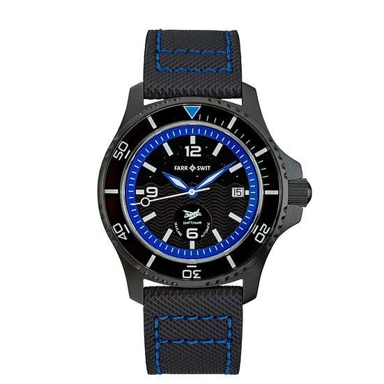 "Seaplane Automatic - ""Midnight Landing"" PVD Black"