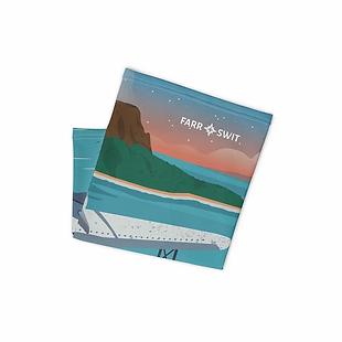 Seaplane Print Neck Gaiter
