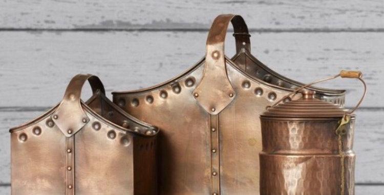 Copper Storage Basket Set