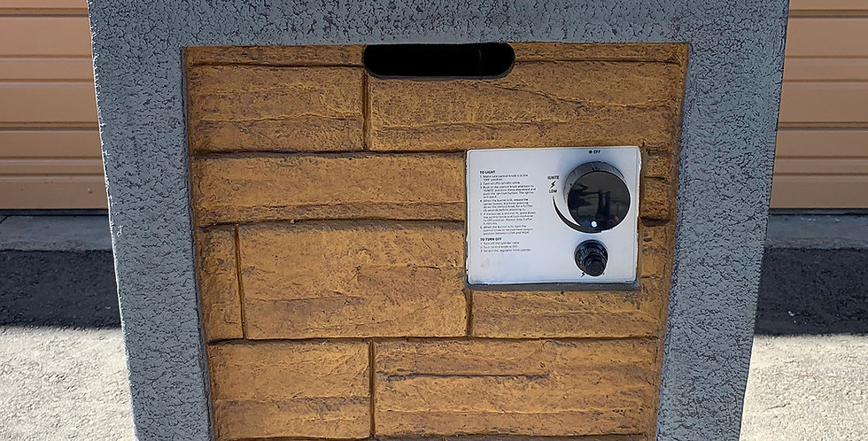 Fire Pit Brick Design Gas