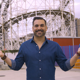 Hosting travel series (Coney Island)