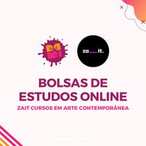 Selecionadas para as bolsas de estudos online - Zait Cursos em Arte Contemporânea