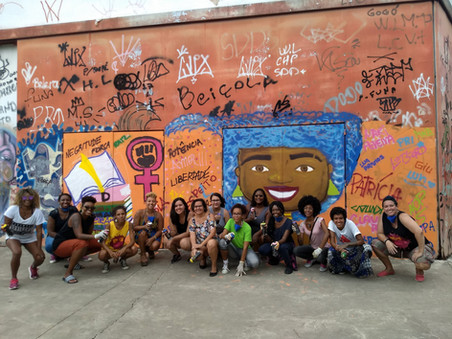 #FundoNAMI 2018: Oficina de graffiti na Arena Carioca Jovelina Pérola Negra