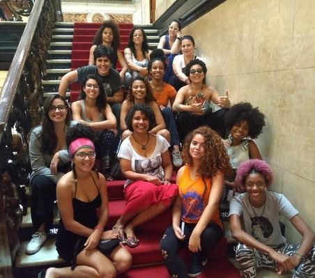 #AfroGrafiteiras 2018: Turma Avançada - Módulo III