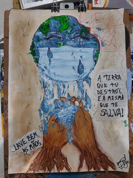Resultado #DesenhoSemana2 - Campanha contra o Coronavírus