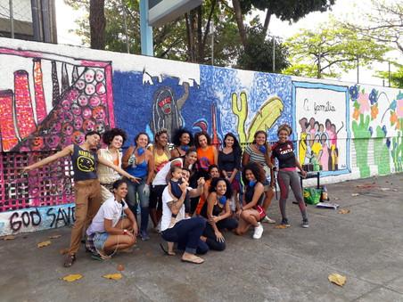 #FundoNAMI 2018: Grafitagem na E.M. Tarsila do Amaral