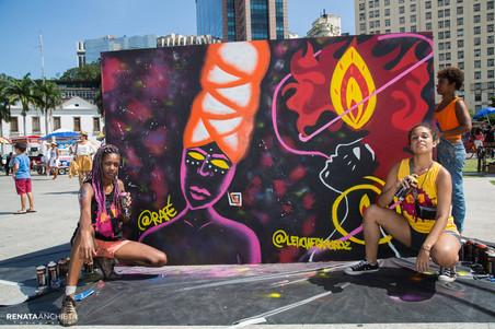 #AfroGrafiteiras no WOW - Festival Mulheres do Mundo