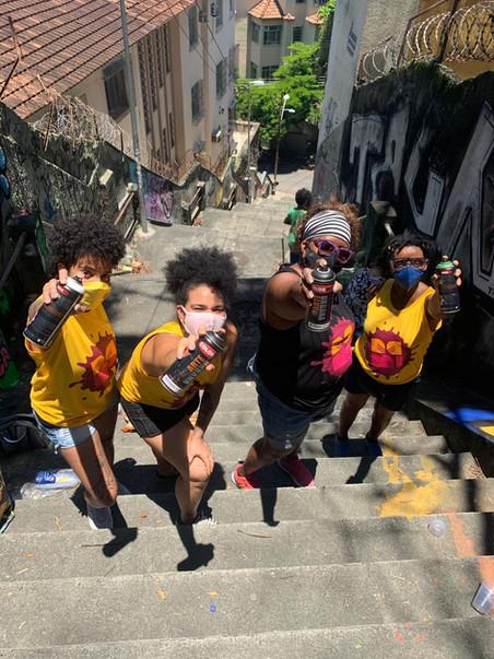 Selecionadas para as vagas de repescagem no #AfroGrafiteiras 2020