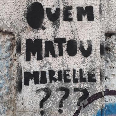 #FundoNAMI 2018: Ações com Stencils por Marielle Franco