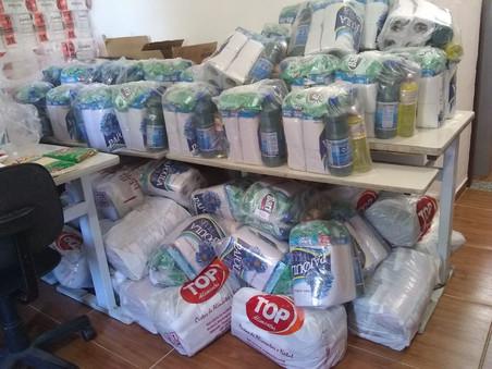 Campanha de doação de cestas básicas da Rede NAMI no combate ao Coronavírus
