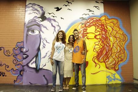 #FundoNAMI 2016: Grafitagem no COART