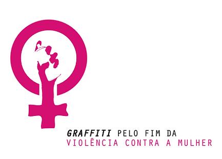 Logo Graffiti pelo fim da violencia cont