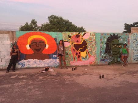 Fundo NAMI: Mutirão de graffiti