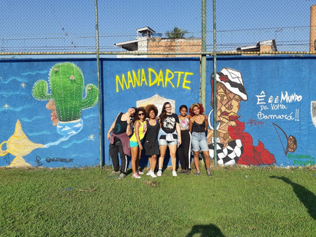 #FundoNAMI 2018: Grafitagem em Deodoro