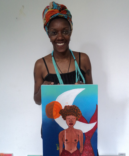 #AfroGrafiteiras 2018: Turma Avançada - Módulo V