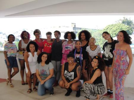 #AfroGrafiteiras 2018: Turmas iniciantes - Módulo III