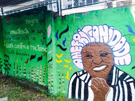 #Fundo NAMI Marielle Franco: Mural Lélia Gonzalez