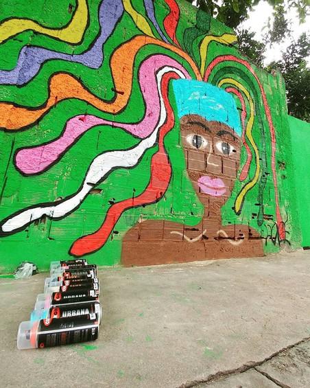 #FundoNAMI 2017: Oficina de graffiti na favela da Palmeirinha