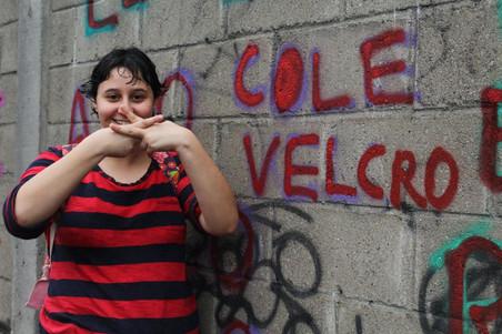 #FundoNAMI 2016: Oficina de graffiti no Mês da Visibilidade Lésbica