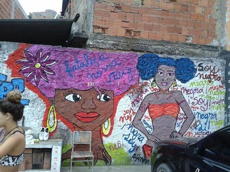 #FundoNAMI 2015: Mural no Centro de Cultura de Acarí
