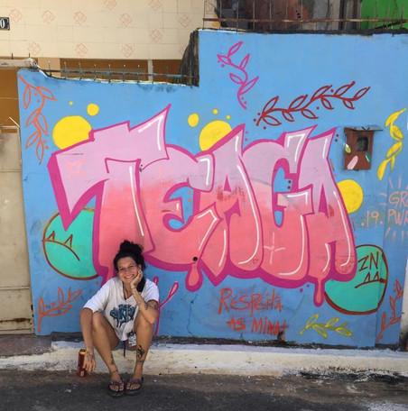 Fundo NAMI - Mutirão de Graffiti em Caxias