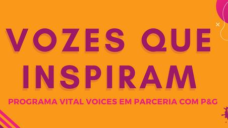 Vital Voices: Programa Vozes que Inspiram