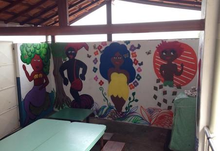#FundoNAMI 2015: Mural Folclore na Floresta