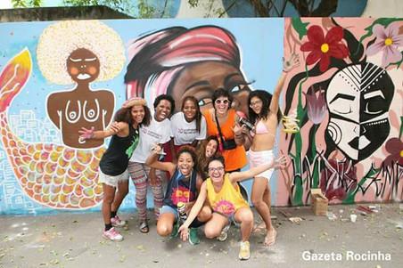 #FundoNAMI 2018: Grafitagem na Rocinha
