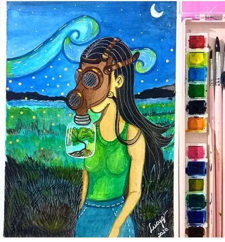 Resultado #DesenhoSemana1 - Campanha contra o Coronavírus