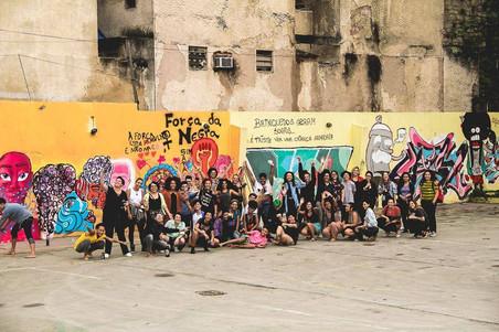 #FundoNAMI 2017: Grafitagem do Mês da Visibilidade Lésbica
