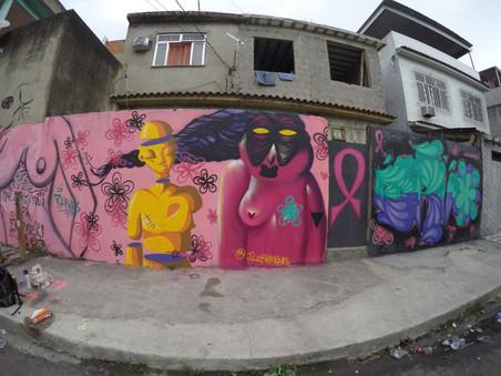 #FundoNAMI 2017: Murais do evento Outubro Rosa