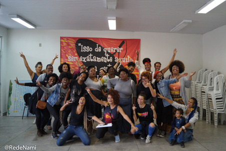 Projeto #Afrografiteiras 2019: primeira oficina da turma Pérola Negra