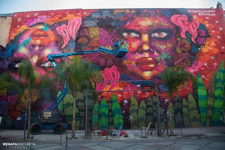 Lançamento do Mural Dororidade + Exposição #AfroGrafiteiras