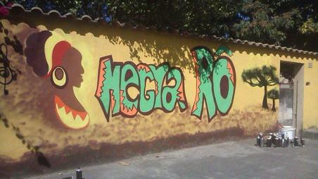 #FundoNAMI 2016: Grafitagem no Quintal da Negra Rô