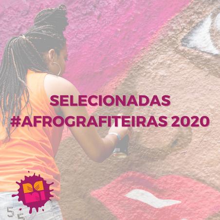 Selecionadas #AfroGrafiteiras 2020