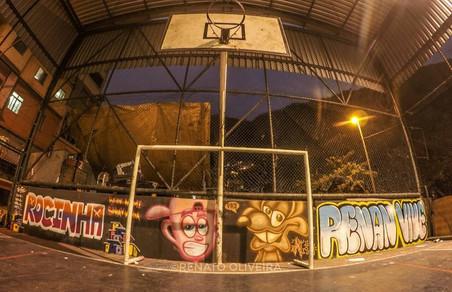 #FundoNAMI 2017: Grafitagem na Rocinha