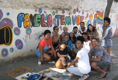 #FundoNAMI 2016: Oficina no Curso Favela Fala