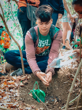 World Missons Outreach Planting Trees