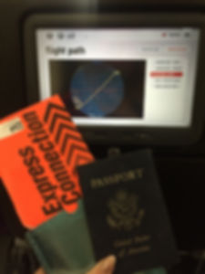 Passport and Ticket to Australia