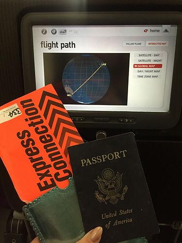 Passport and Ticket to Australia