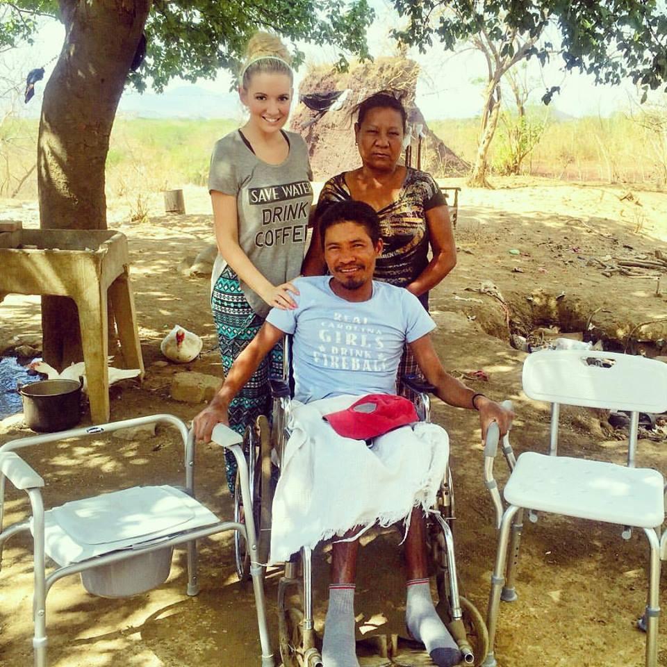 Amanda Sowards Humanitarian of the Year in Nicaragua