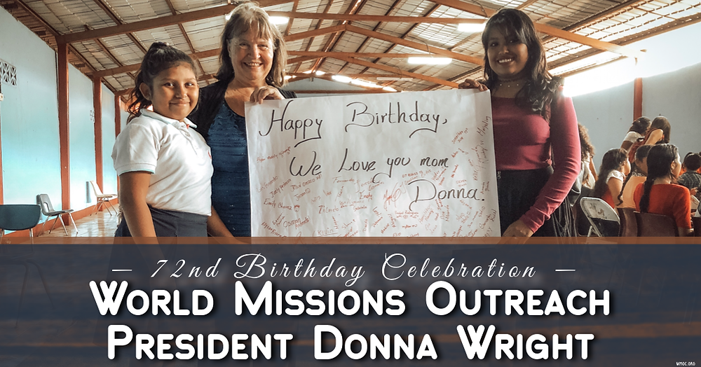 Donna Wright World Missions Outreach