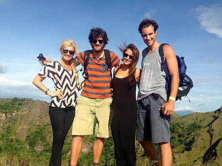 Hiking up Masaya Volcano Nicaragua