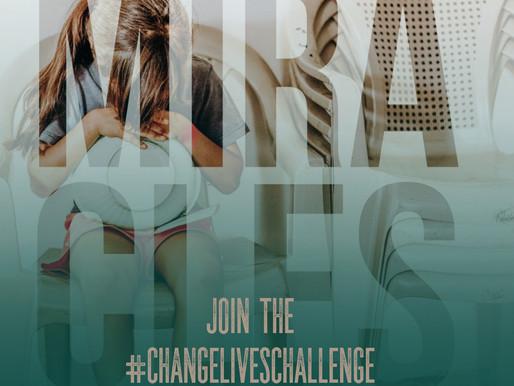 #ChangeLivesChallenge