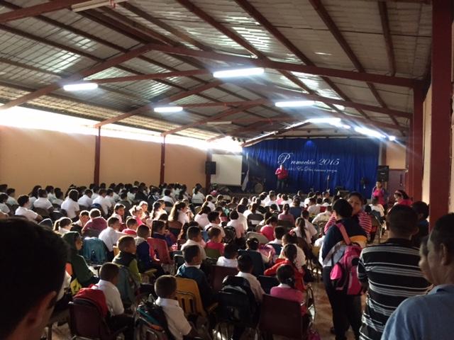 2016 1st day of Chapel at WMO