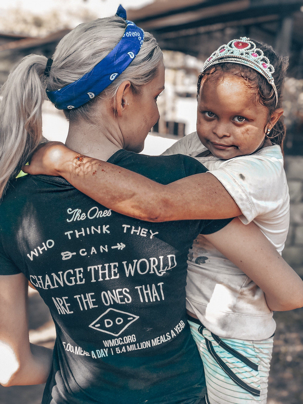 Humanitarian Amanda Sowards on Mission Trip La Chureca