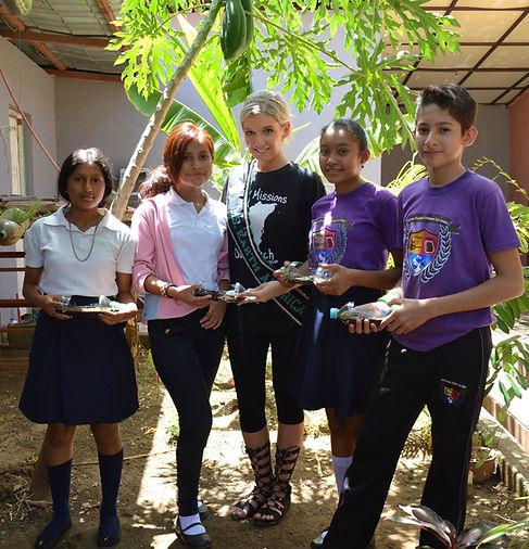 Miss Earth United States Mission Trip Nicaragua