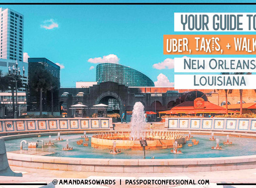 Uber, Taxis, or Walking - New Orleans